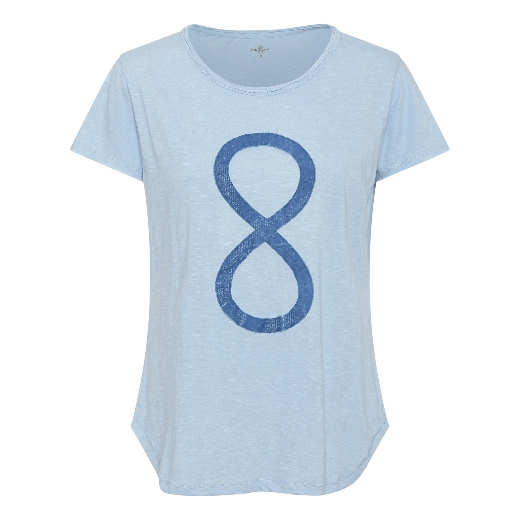 Costa & Mani Costa Mani infinity shirt bleu 2101550