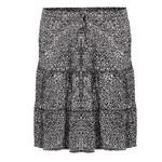 Geisha Geisha Skirt ruffle minimal print 16040-85