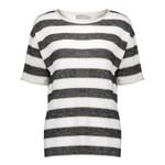 Geisha Geisha T-shirt striped 12373-40