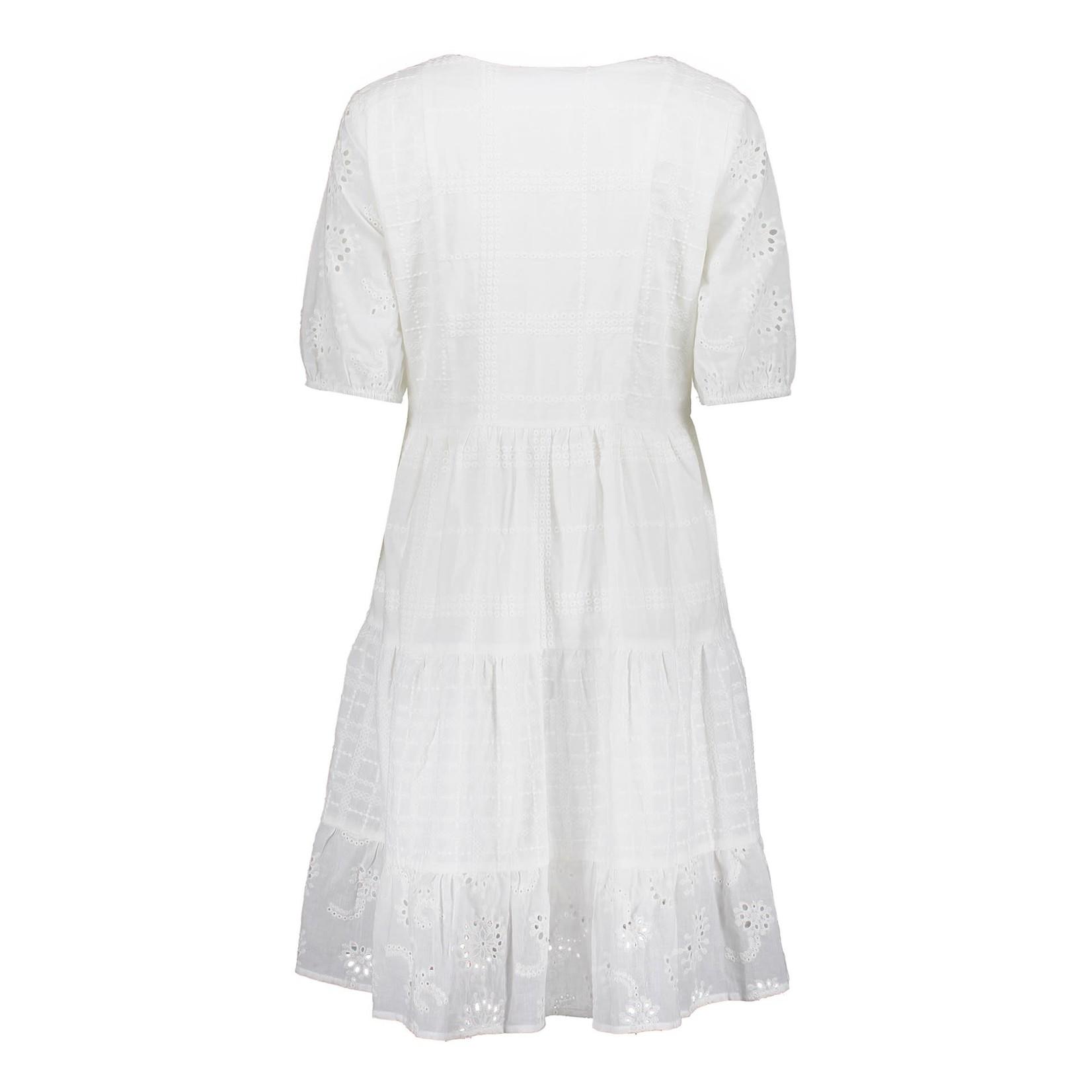 Geisha Geisha Dress stokes elastic cuff 17337-26