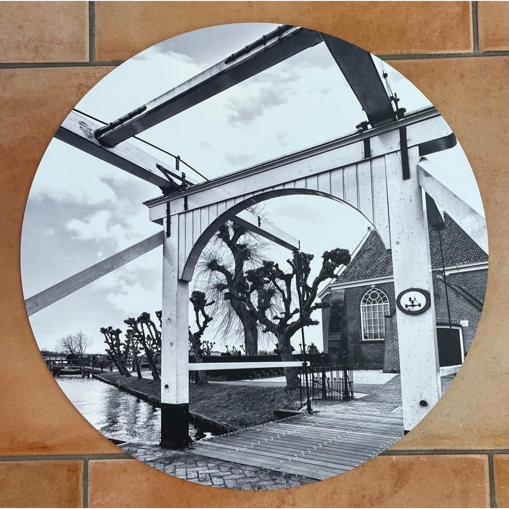 Bij Rijk muurcirkel Brug Reghthuysplein 40cm