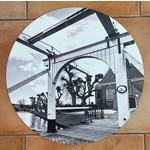 Bij Rijk muurcirkel Brug Reghthuysplein 50cm