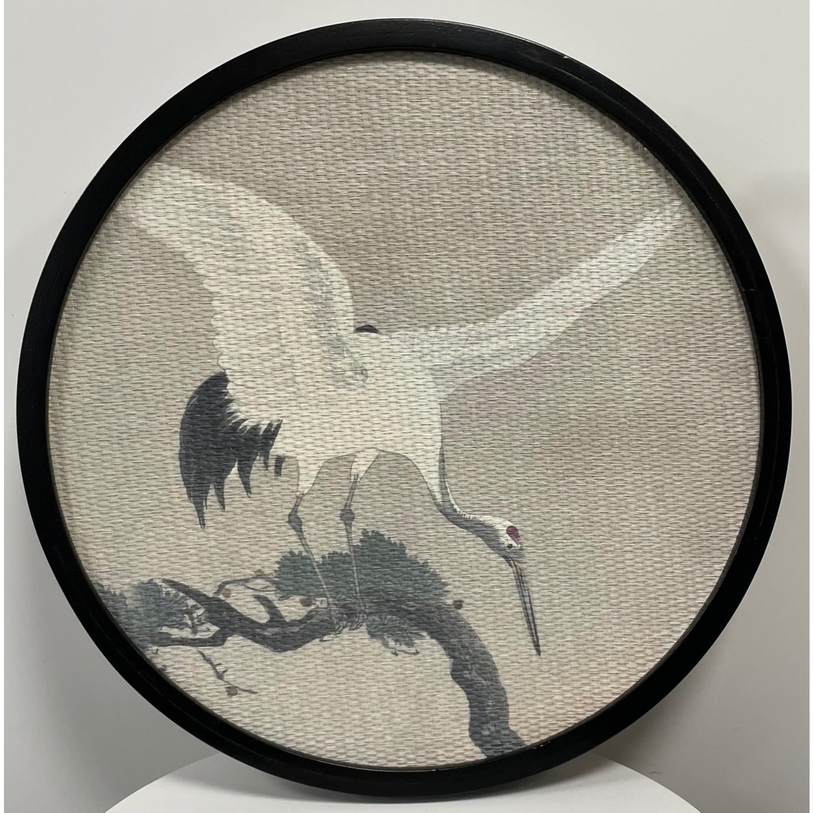 Wall Deco Kraanvogel
