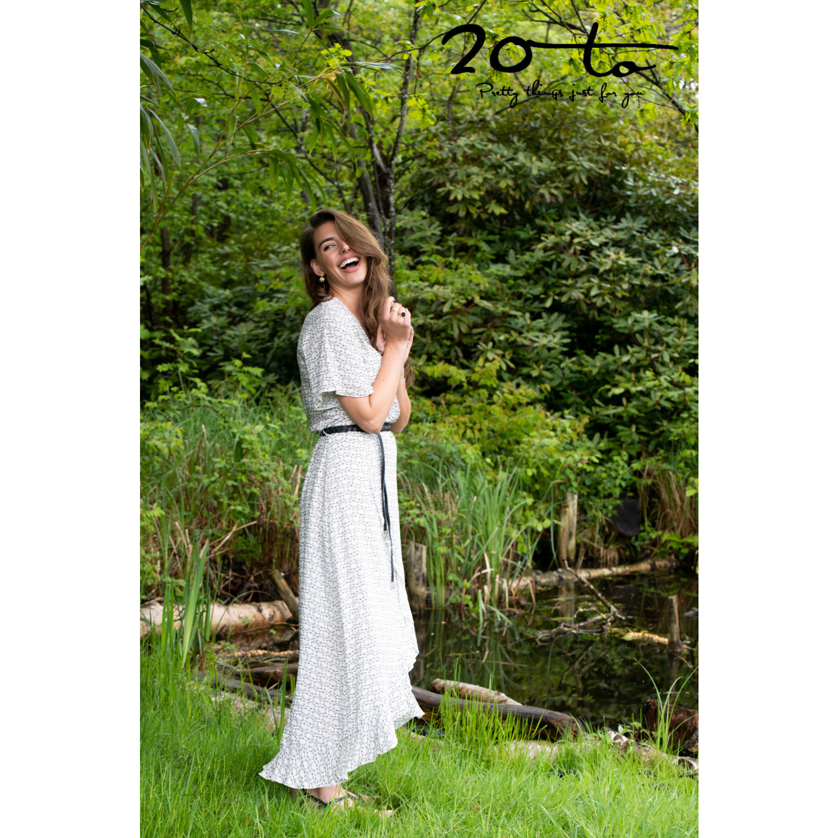 20 to 20-to Dress Roussel Lotus