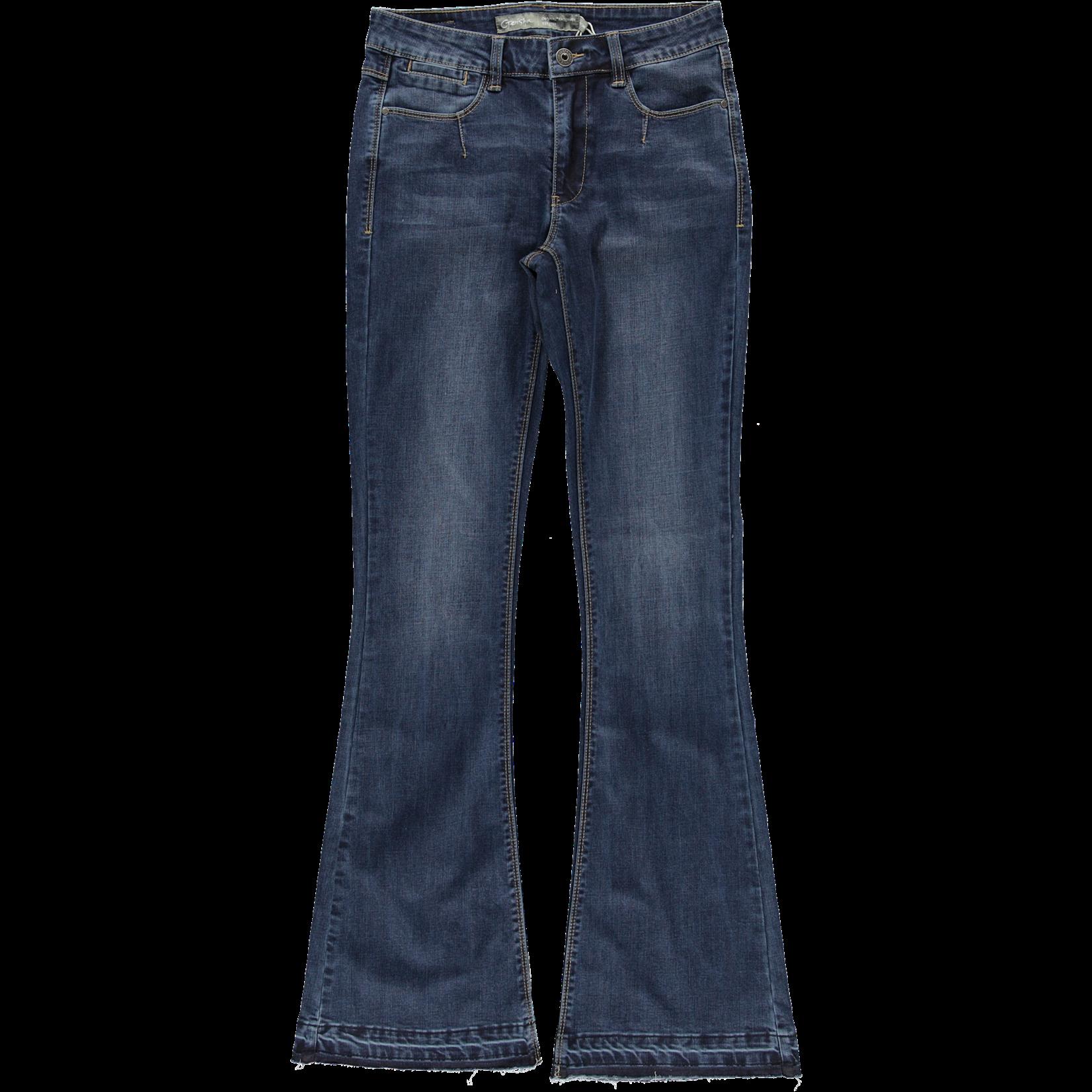 Geisha Geisha Jeans Flair blue denim stonewash 11531-10