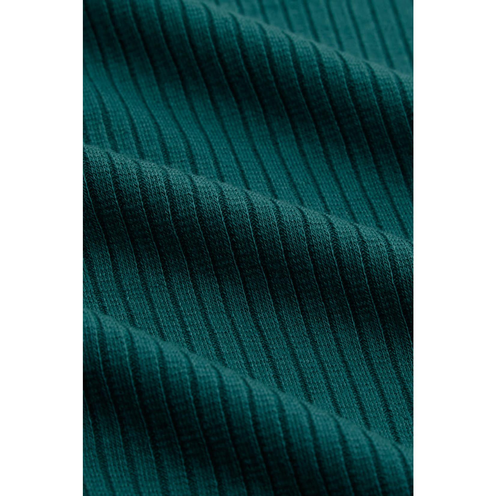 King Louie King Louie Top Uni Rib Tencel Green 05547