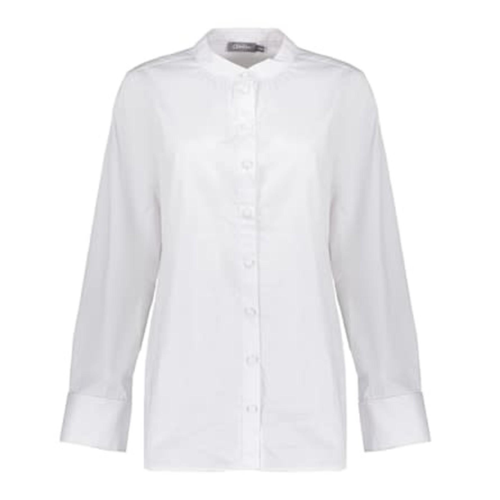 Geisha Geisha Blouse Double Cuffs off-white 13554-26