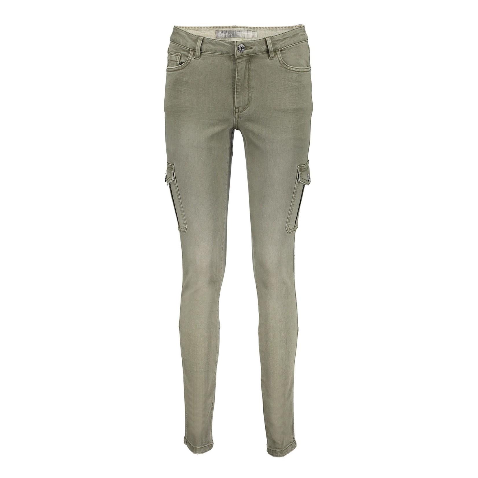Geisha Geisha Cargo Pants army 11507-10