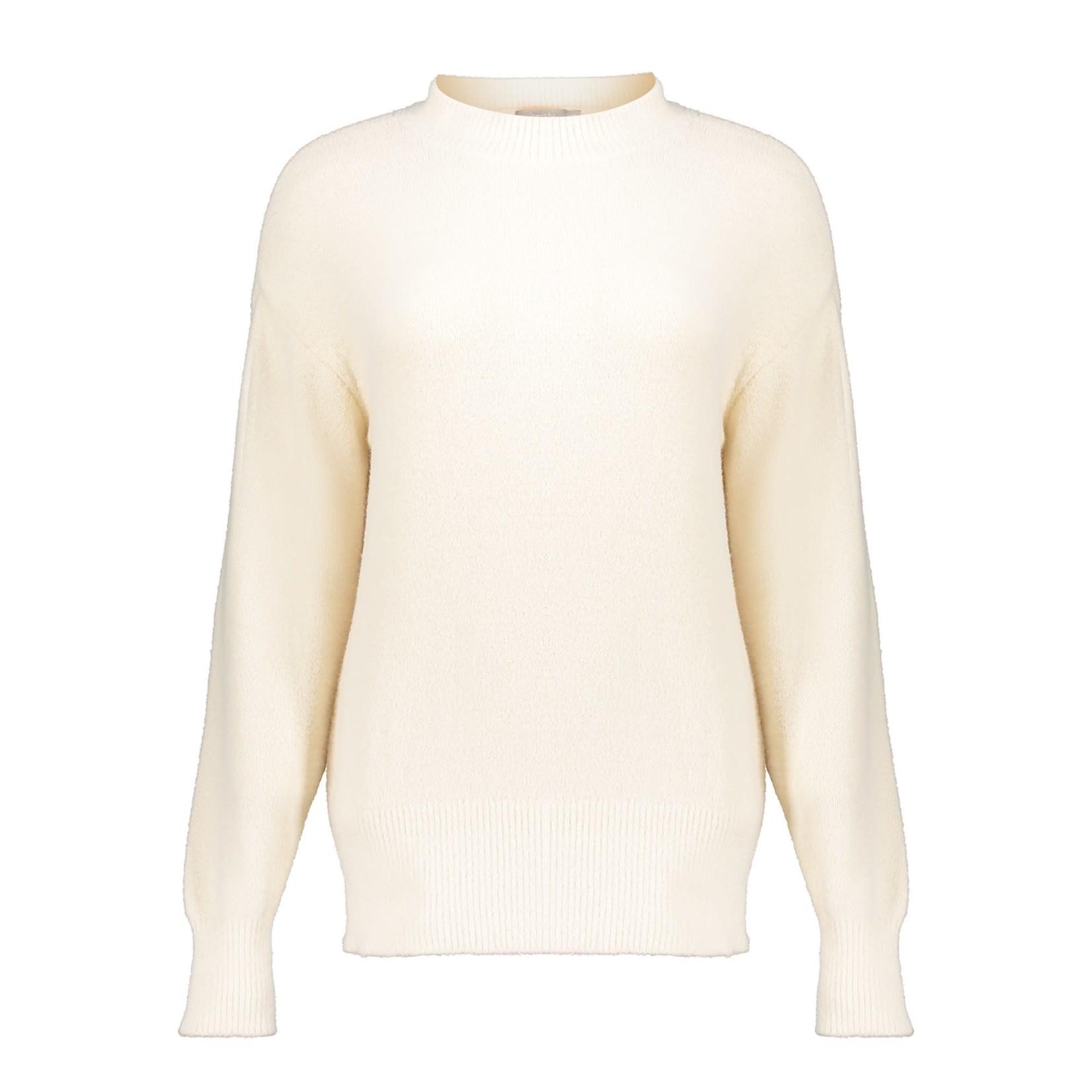 Geisha Geisha Fluffy pullover cream 14545-29