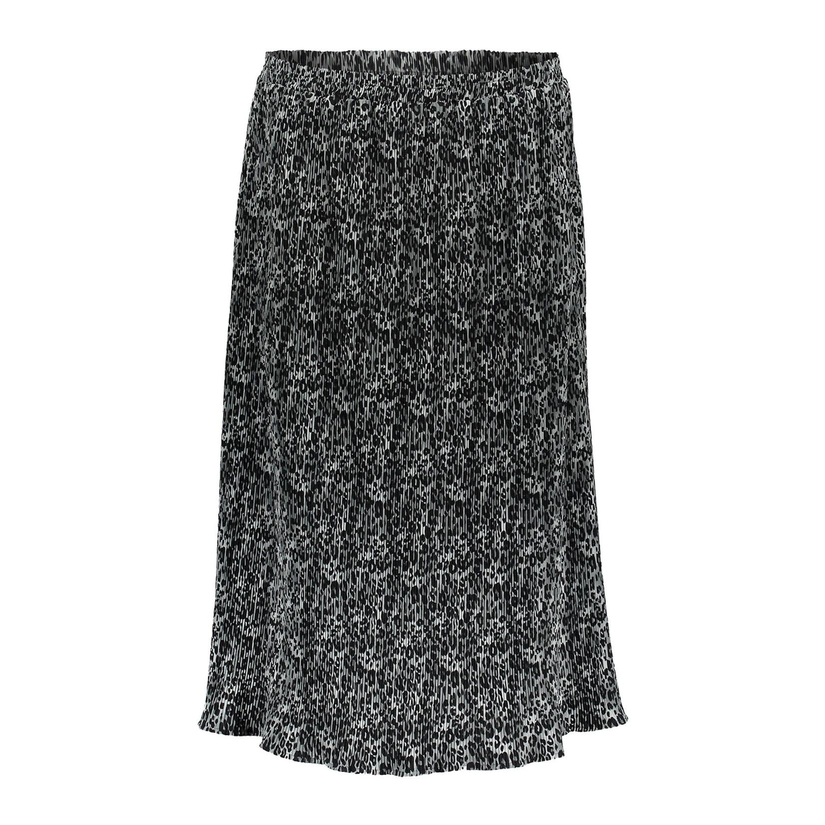 Geisha Geisha Skirt Grey/black 16597-20