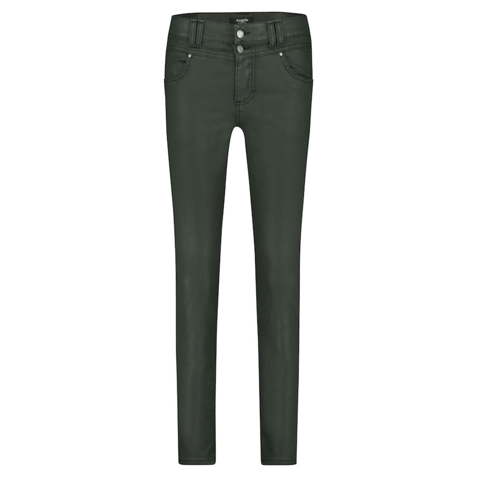 Angels Angels Skinny Button 120330 500 Forrest Green