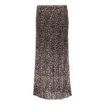Geisha Geisha Skirt plisee leopard 16565-70