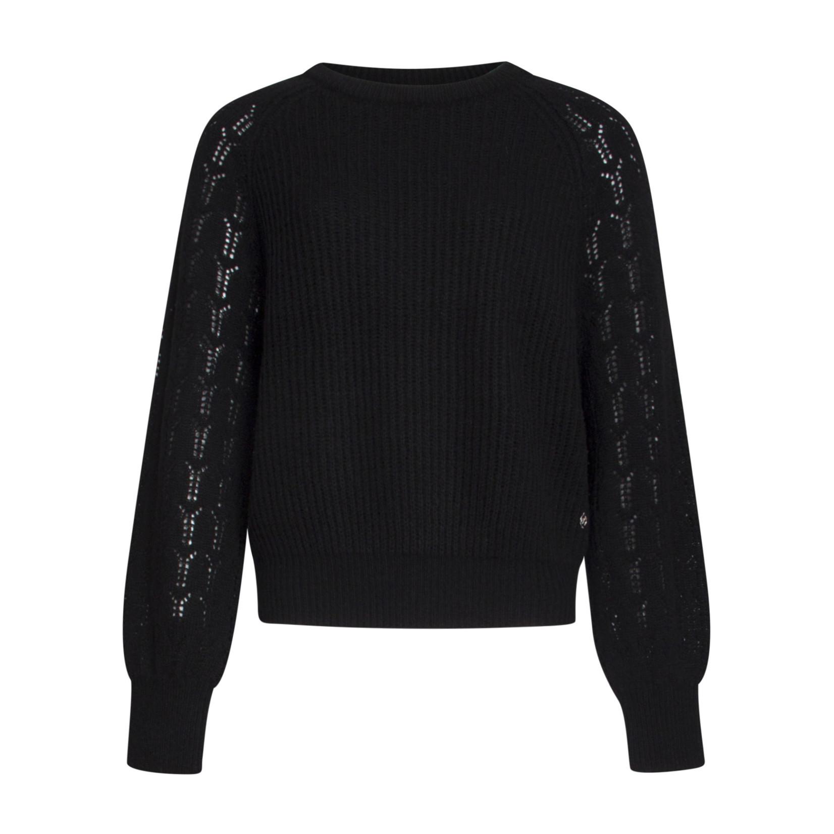 Smashed Lemon Smashed Lemon Sweater Black 21690