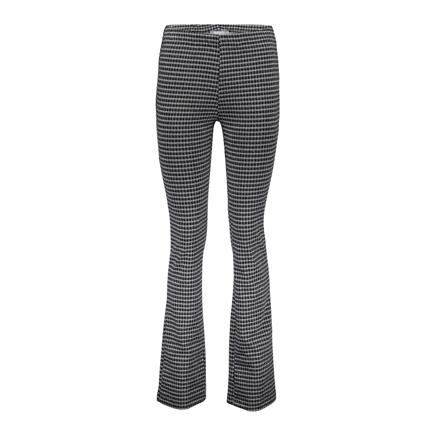Geisha Geisha Pants Check Flair black/grey 11566-40