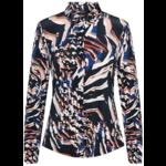 & Co & Co Woman Lotte Blouse Weave Navy