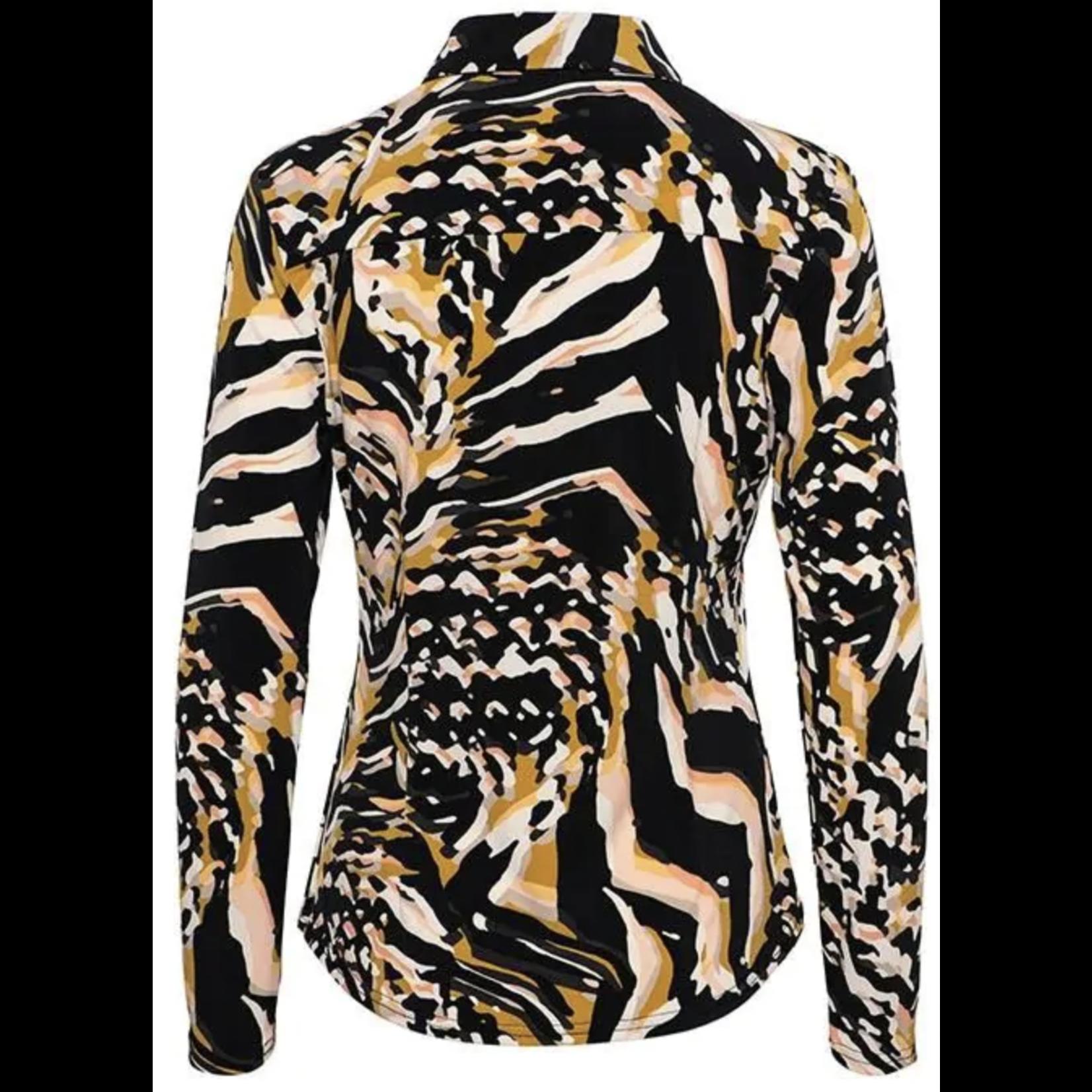 & Co & Co Woman Lotte Blouse Weave Black