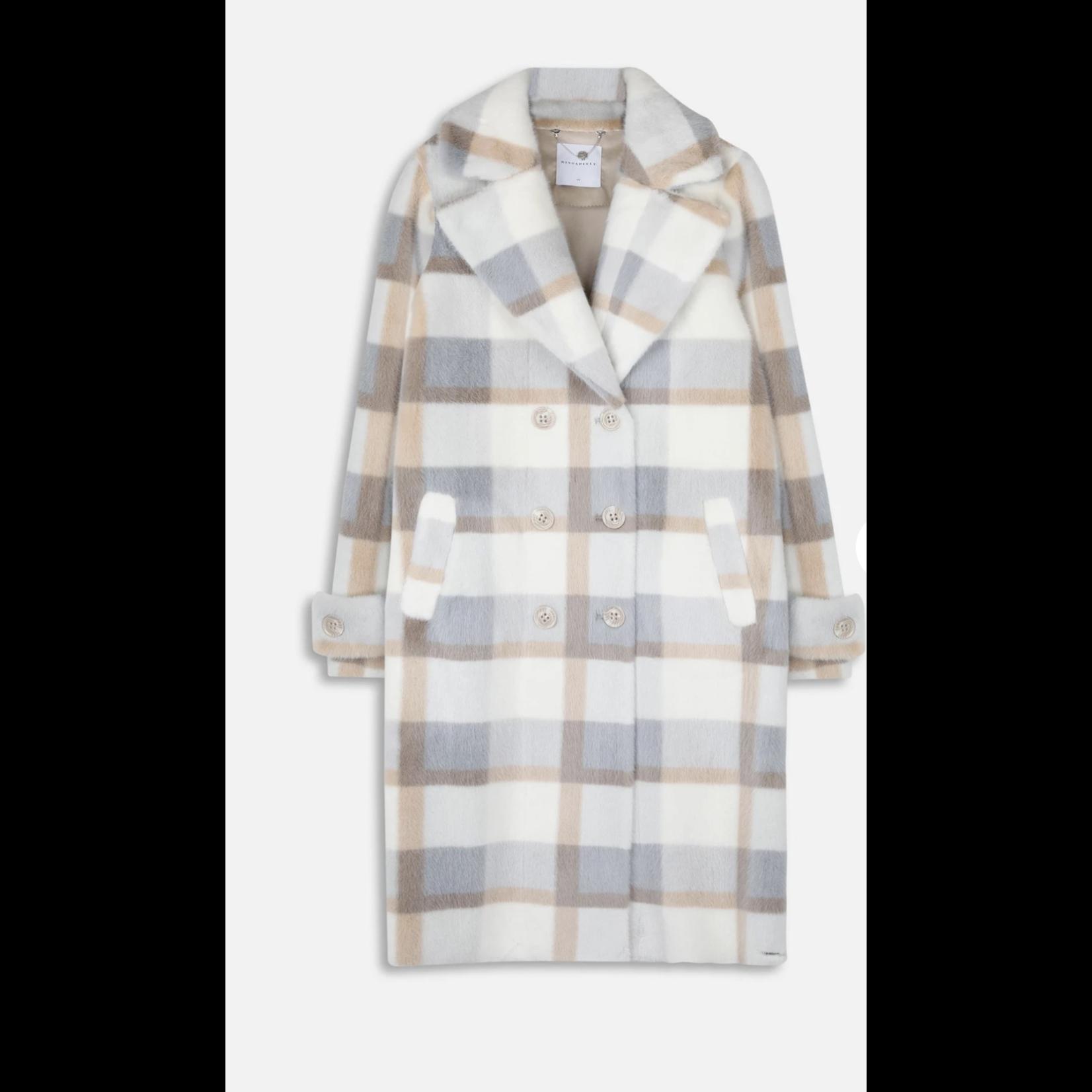 Rino & Pelle Rino & Pelle Long Faux Fur Coat Favor.700W21