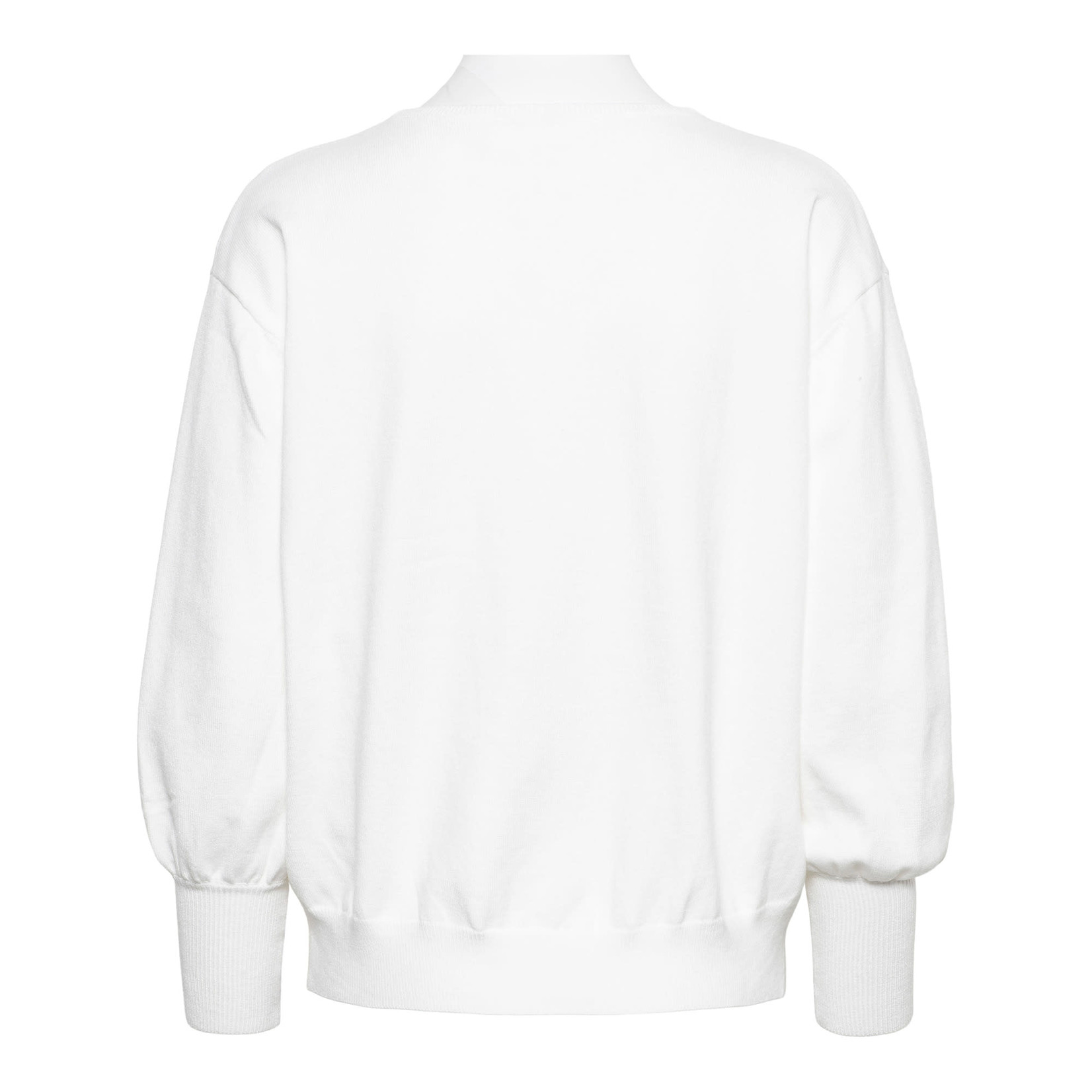 & Co &CO Woman Bloom Pullover Off White