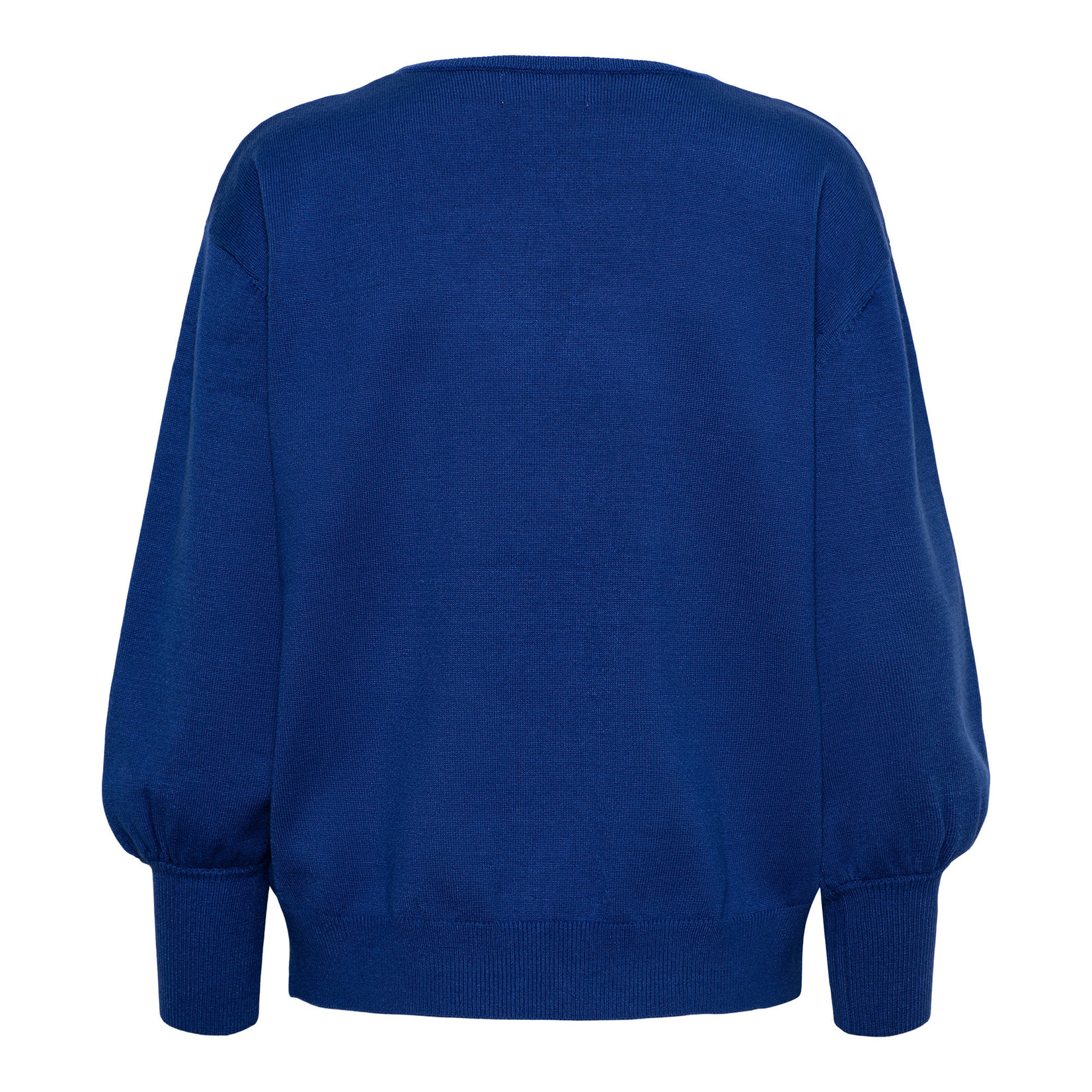 & Co &CO Woman Bloom Pullover Kobalt