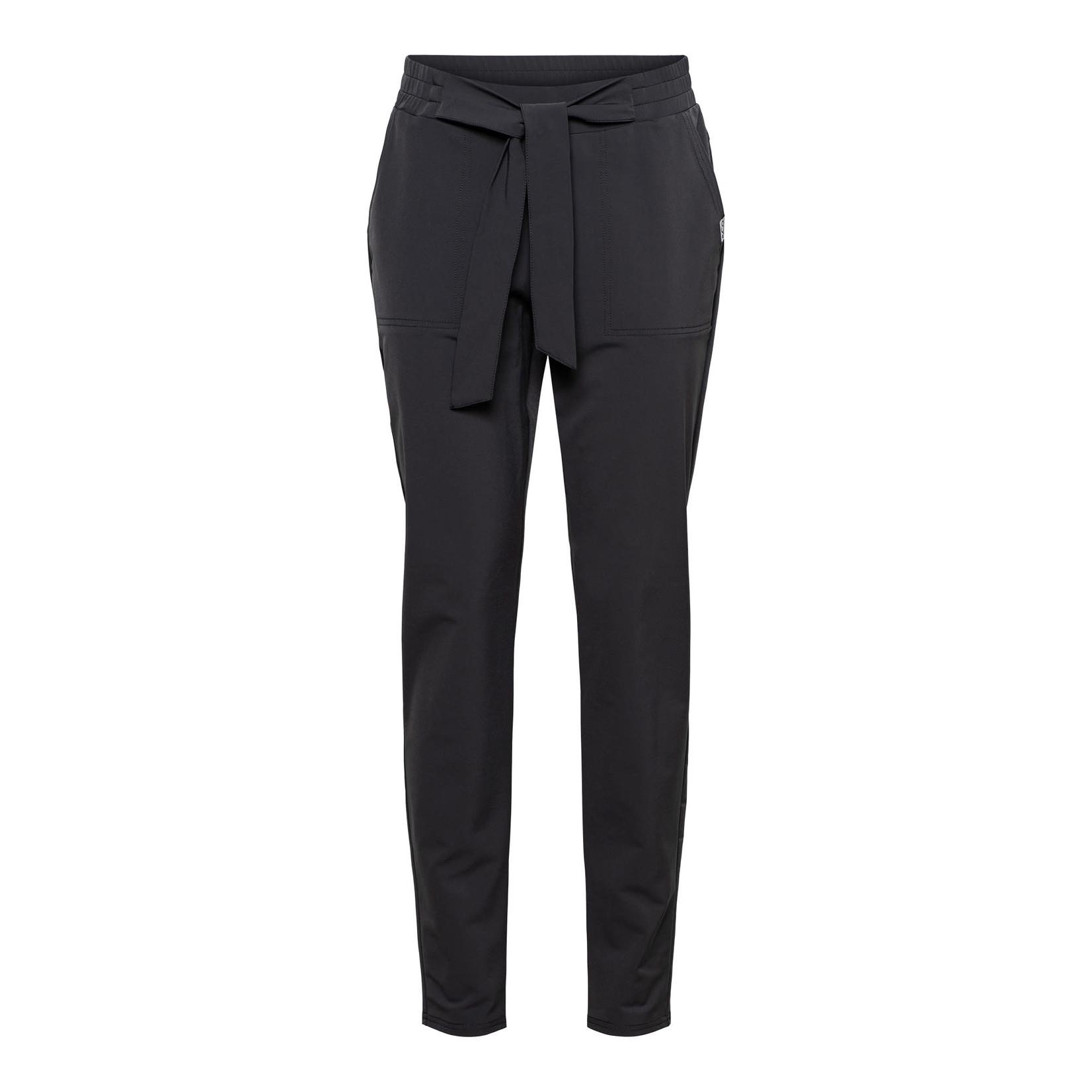 & Co Woman & Co Poppy Knot Pants Off Black