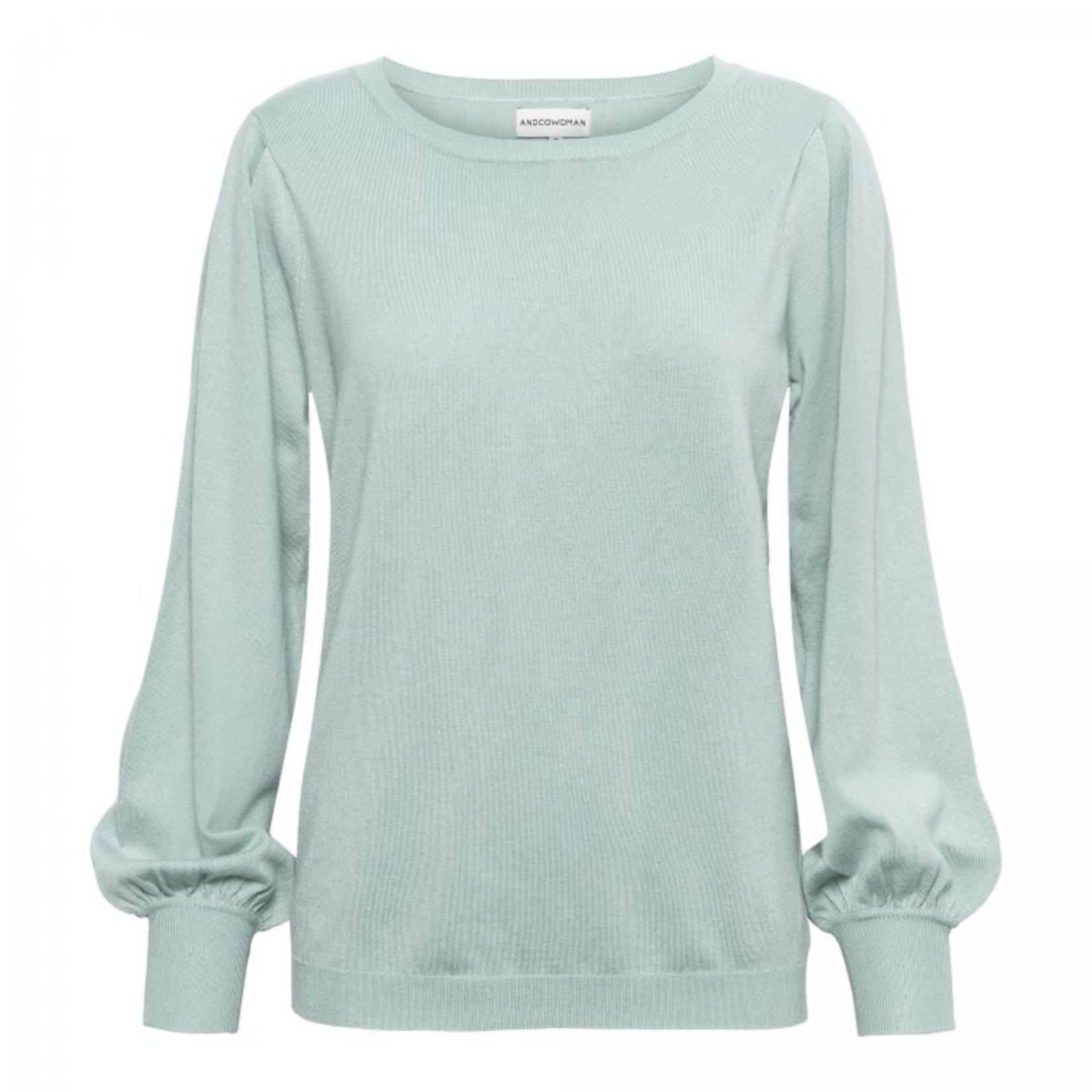 & Co & CO Woman Blossom Pullover Mint