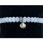 Armband Witte Agaat 17cm