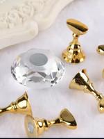 Crystal nail art houder
