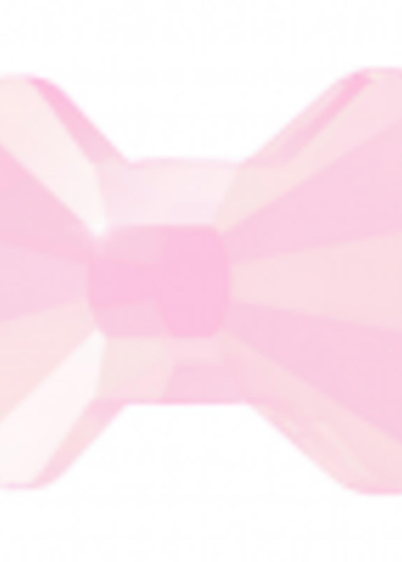 Swarovski Swarovski Crystal Bow Tie Rose 6.0 x 4.5 mm