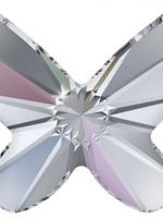Swarovski Swarovski Crystal Butterfly AB 8.0 mm