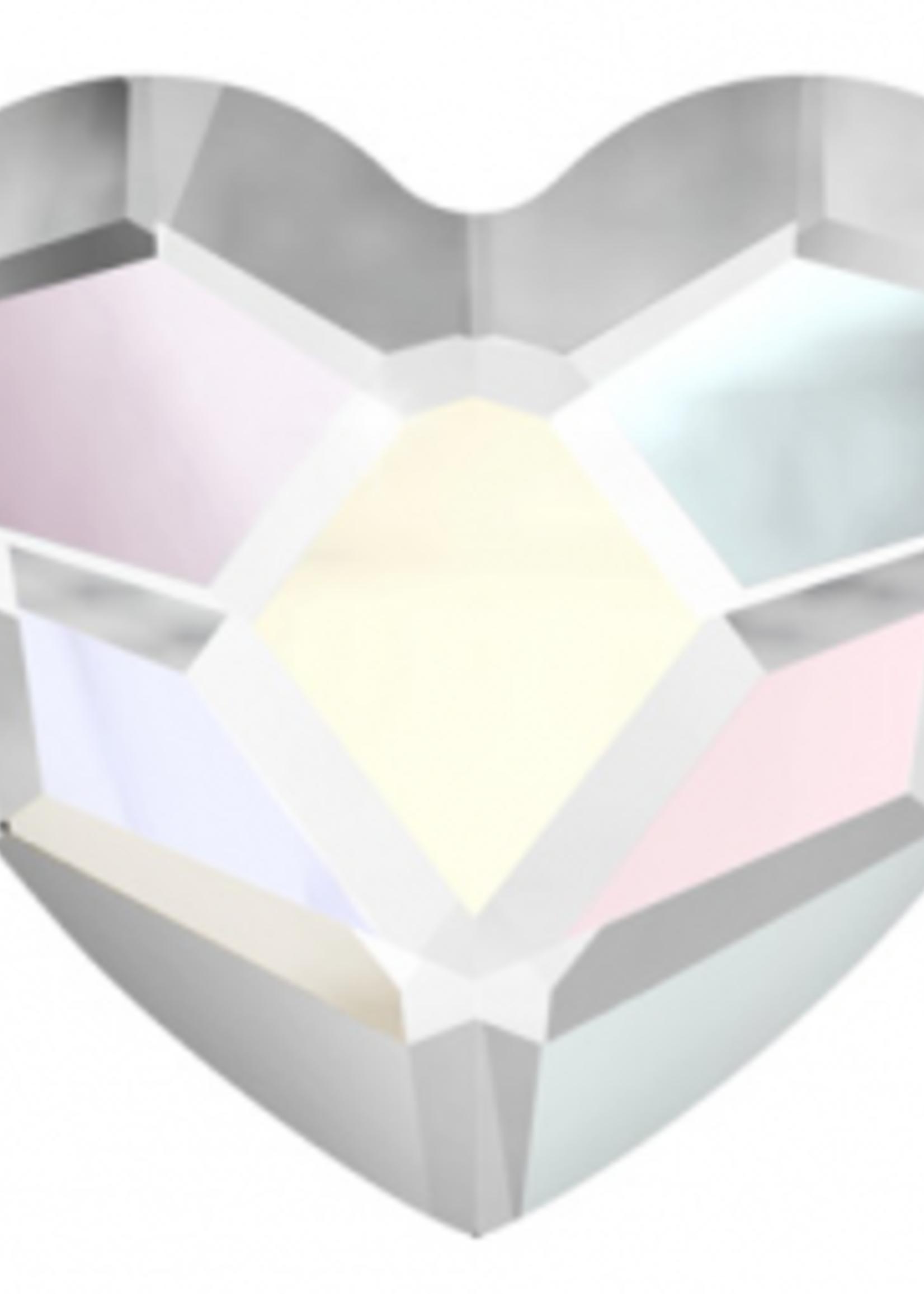 Swarovski Swarovski Crystal Heart AB 6.0 mm