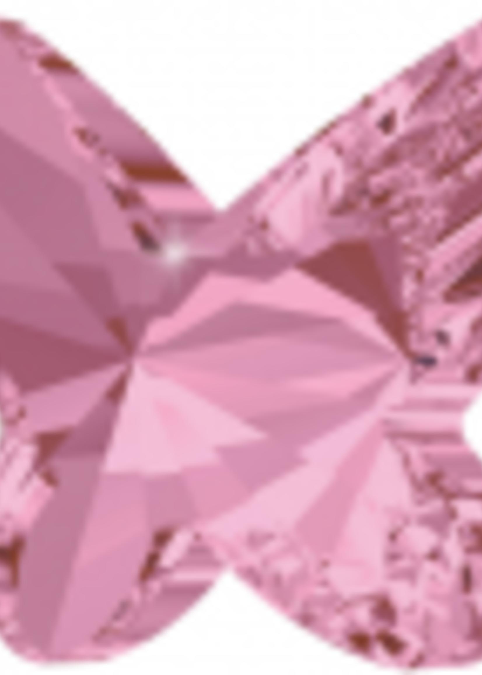 Swarovski Swarovski Crystal Butterfly Light Rose 8.0 mm