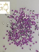Glitter Queen Purple Diamonds