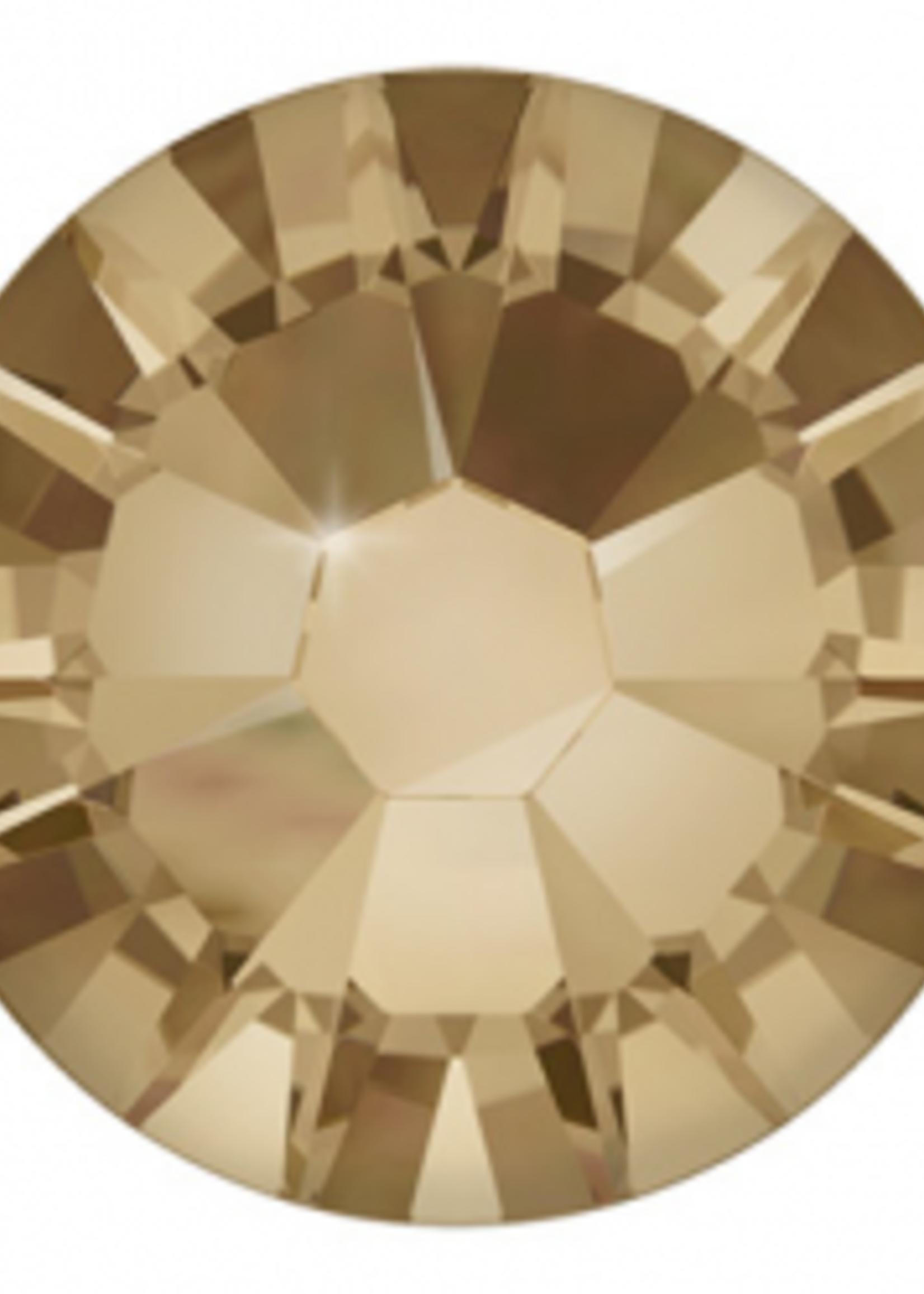 Swarovski Swarovski Crystal Golden Shadow 1.75 mm