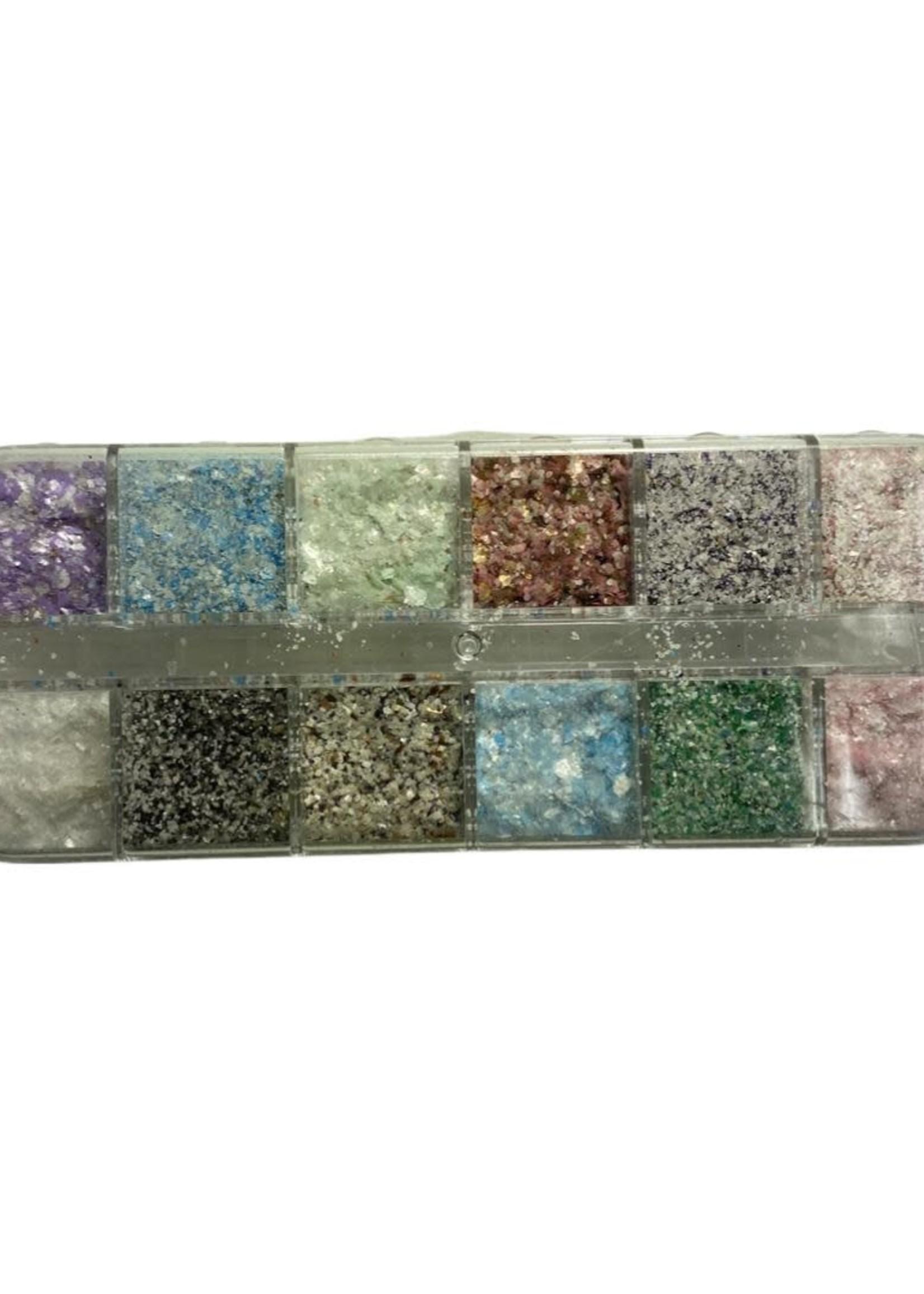 Box Inlay Shells Various Colors
