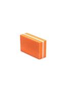 La Ross Small Buffer Orange 4 pieces