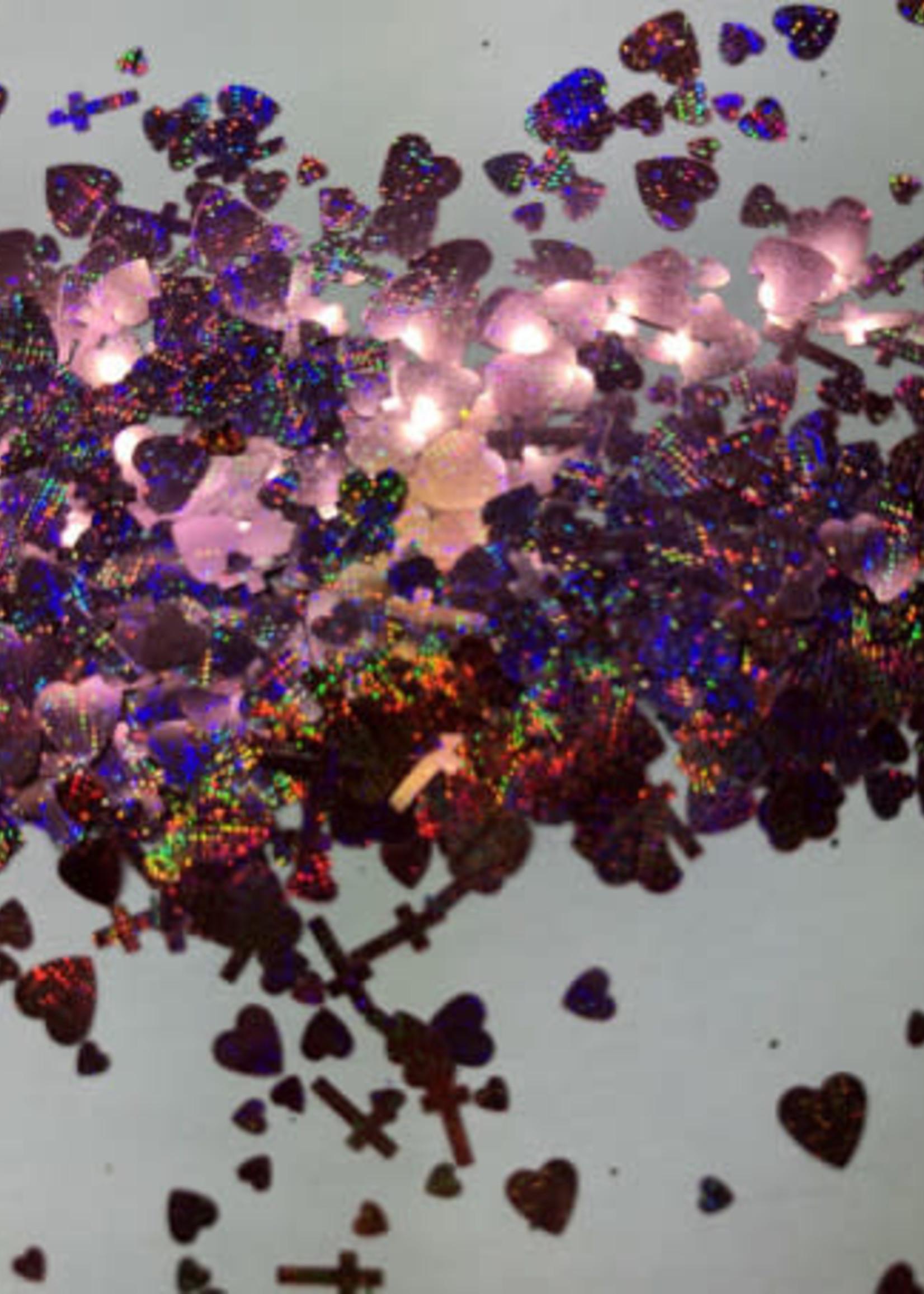 Glitter Queen Mixed Love Pink