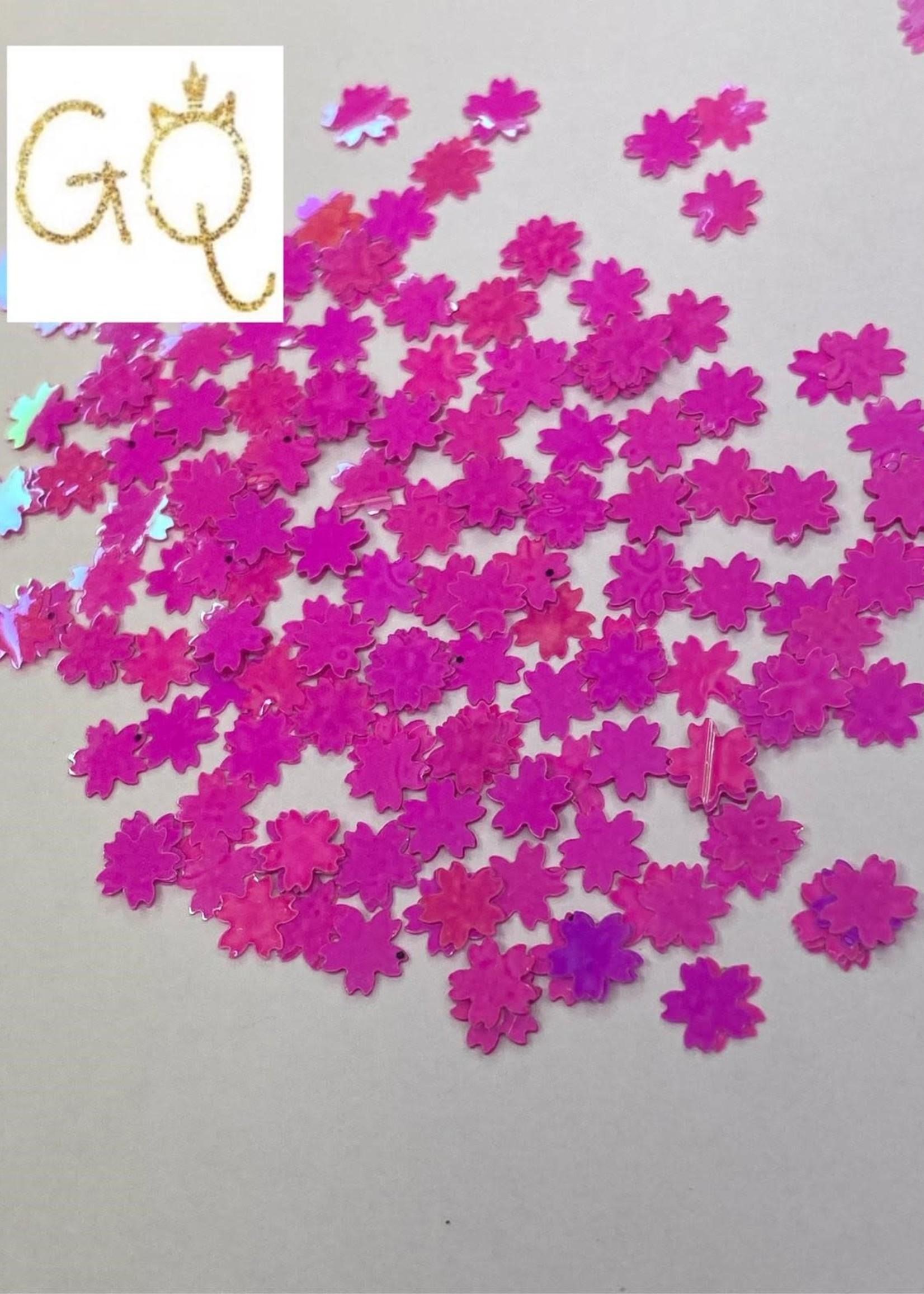 Glitter Queen Pinky Flowers