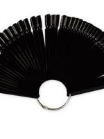 Presentatie Nail art zwart