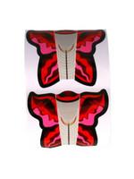 Sjabloon Vlinder Roze