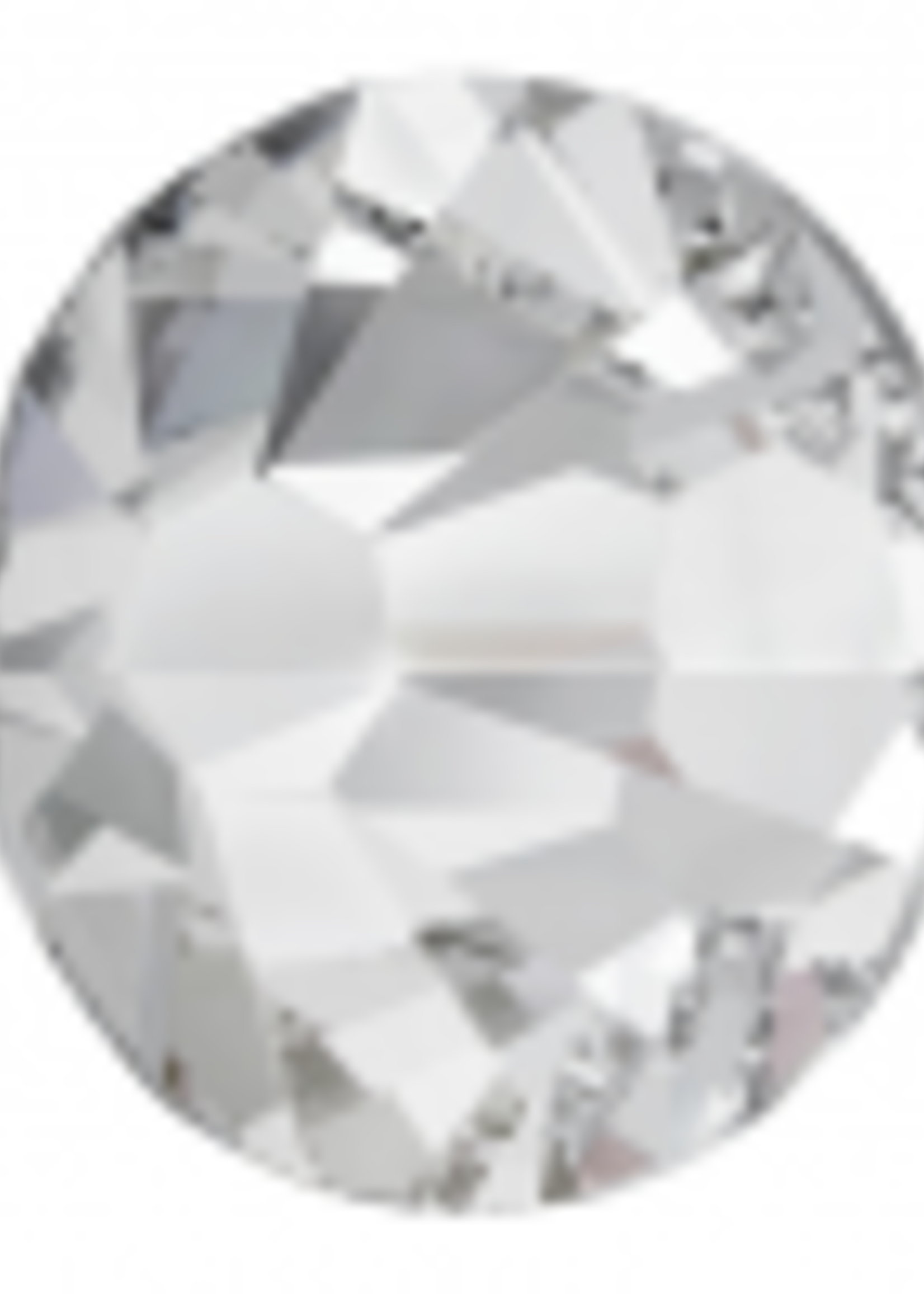 Swarovski Swarovski Crystal Silver 2.55 mm