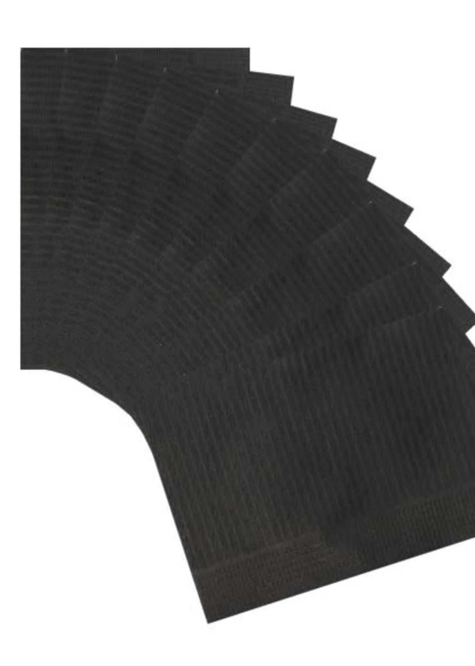 La Ross Table Towels Zwart