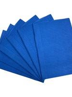 La Ross Toallas De Mesa Azules