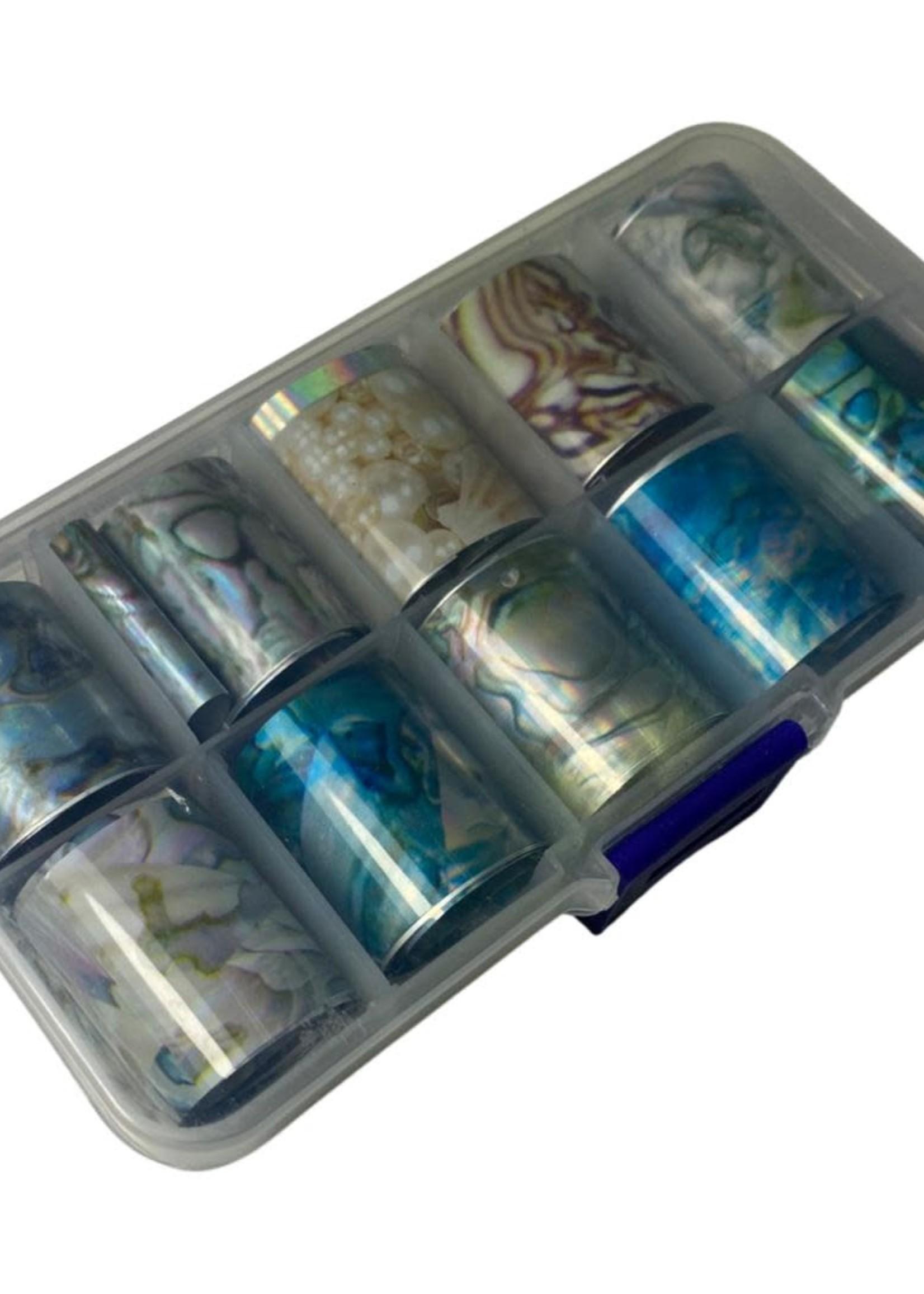 Transfer Foil marble box