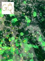 Glitter Queen Green Dot Mix