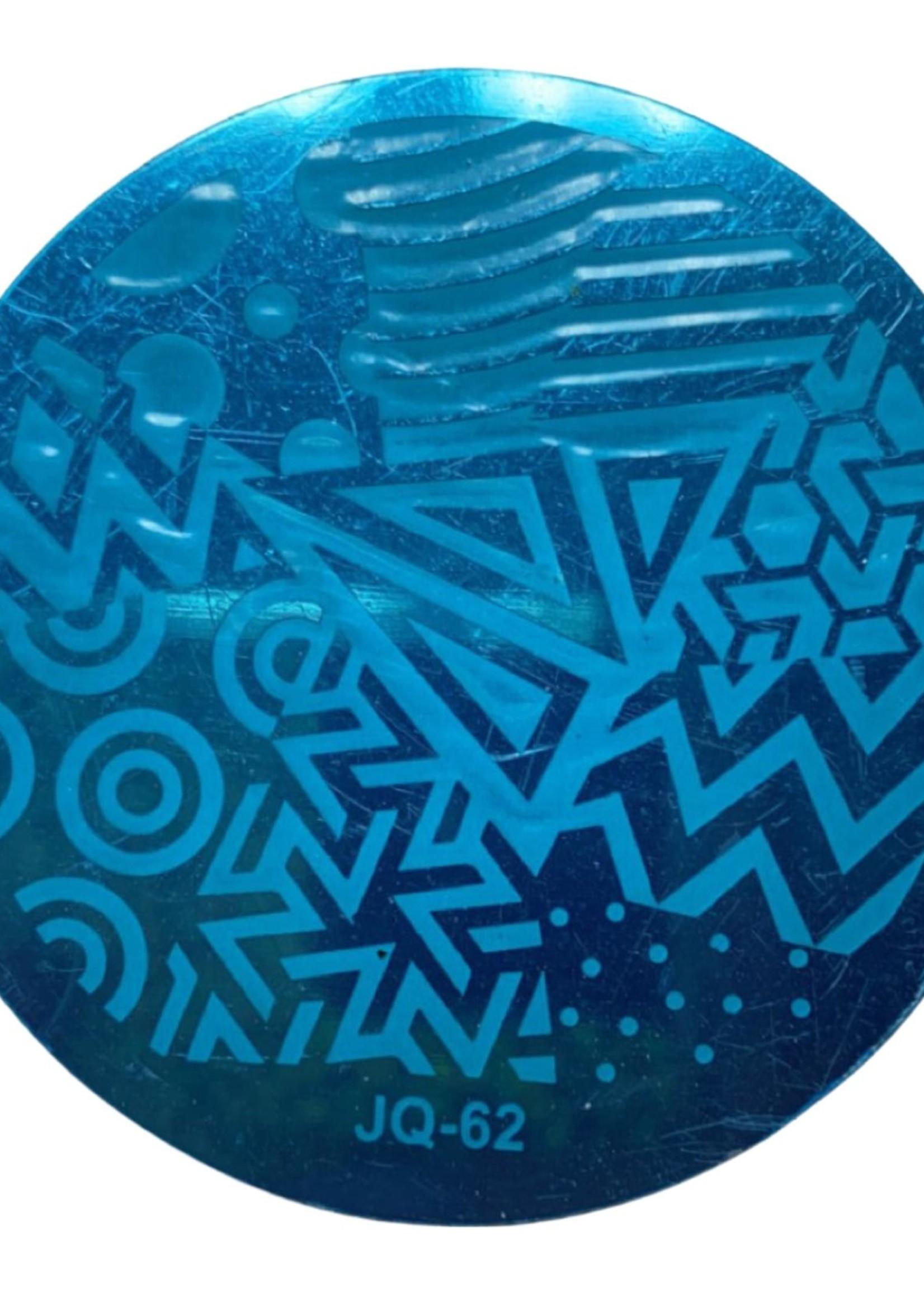 Stamp plate JQ-62