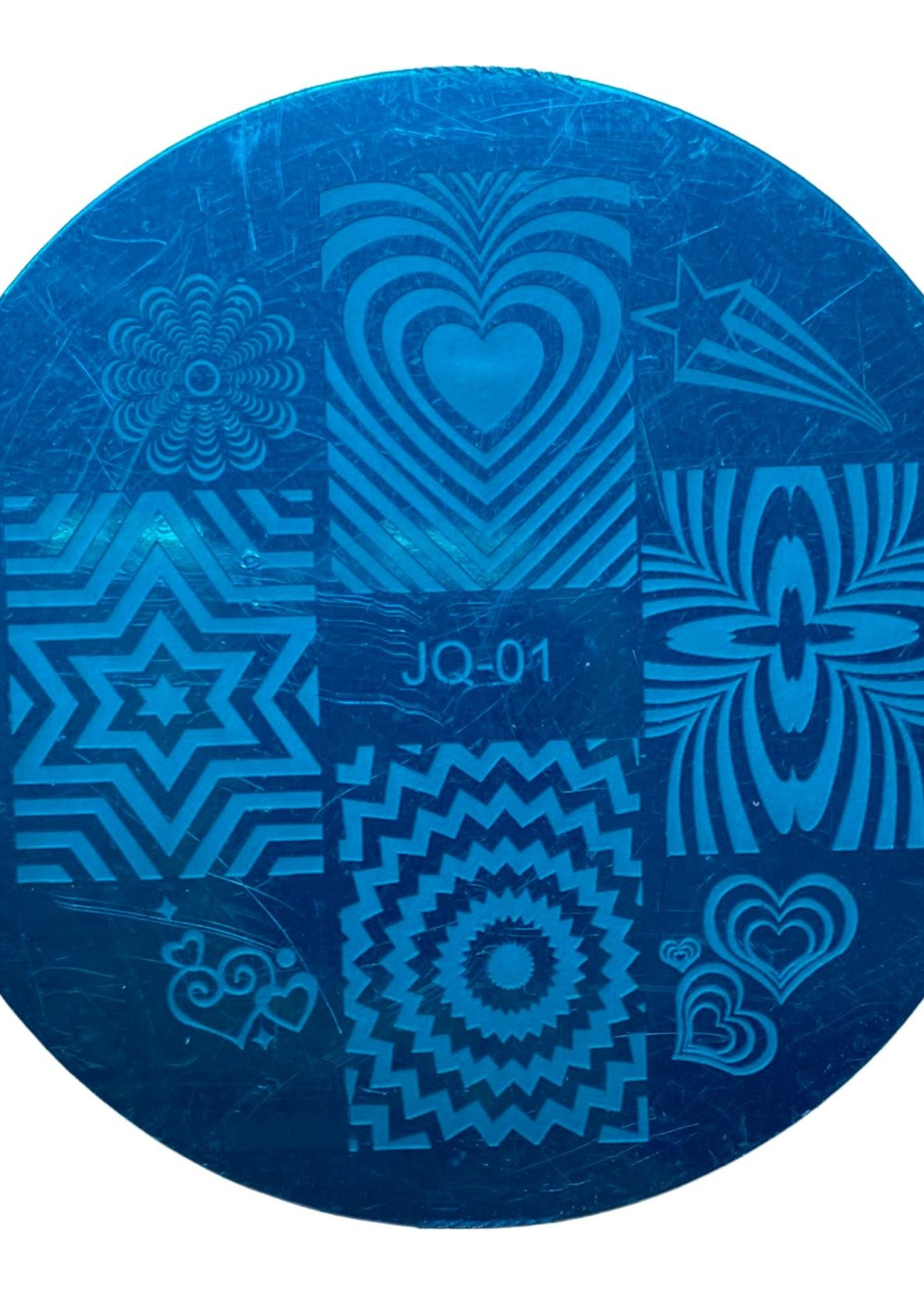 Stamp plate JQ-01