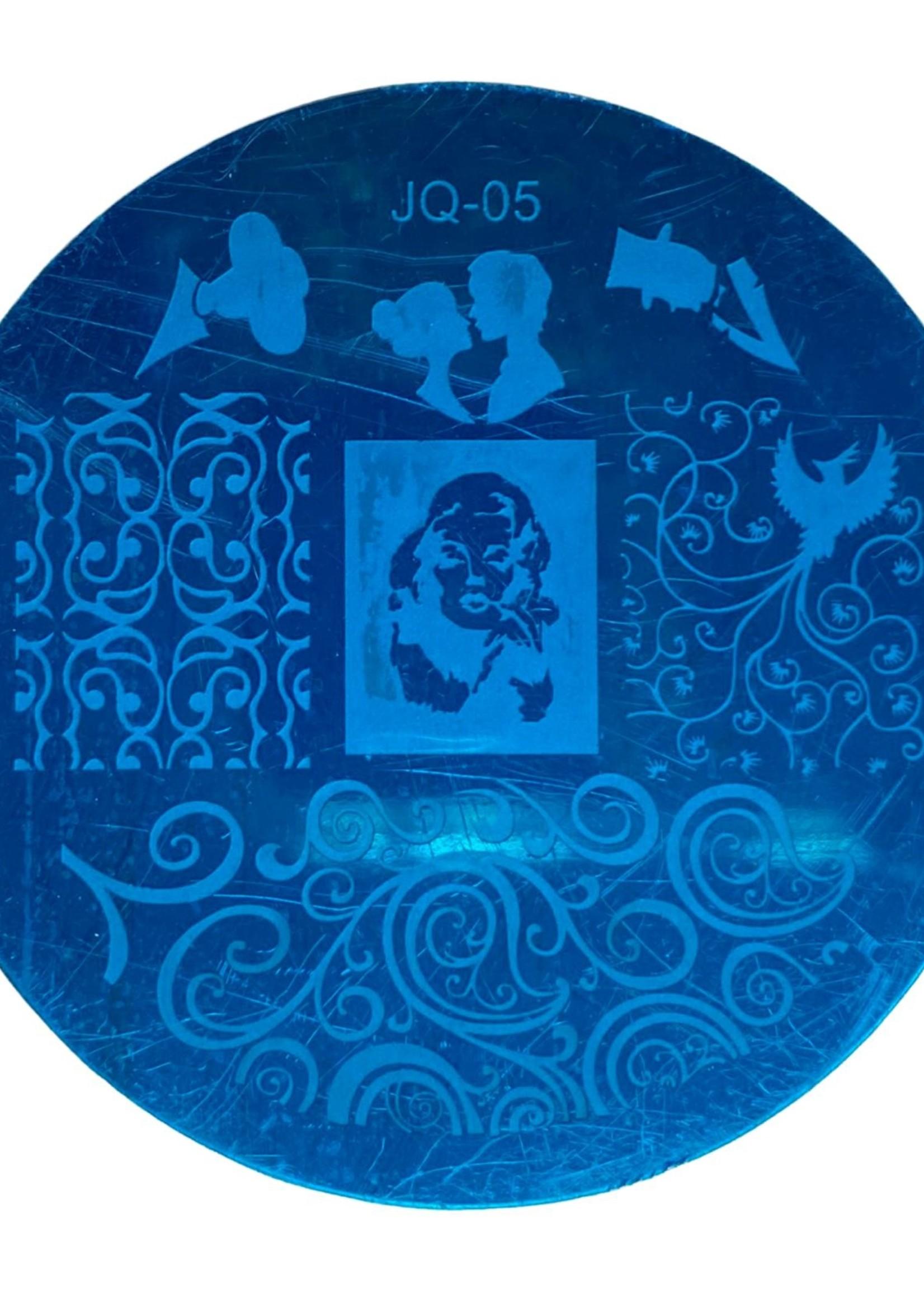 Stamp plate JQ-05