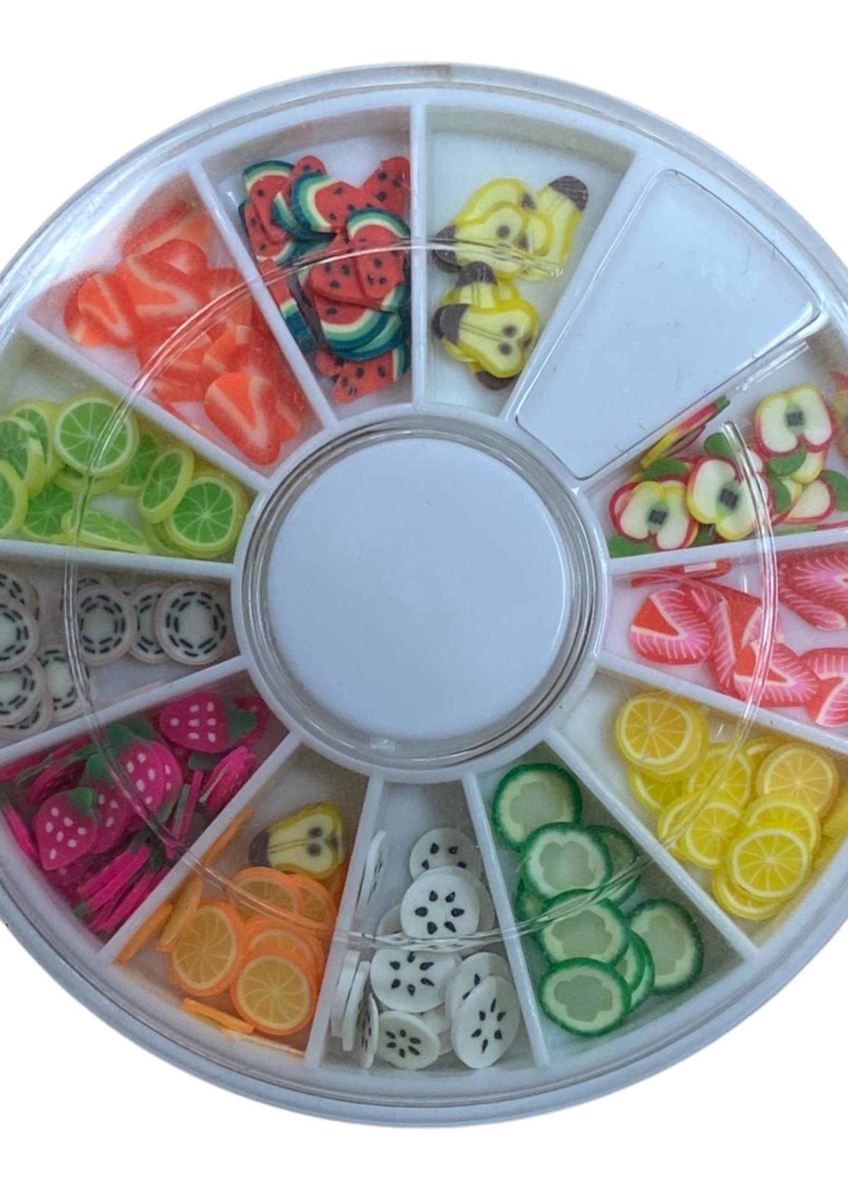 Inlay fruit 12 verschillende