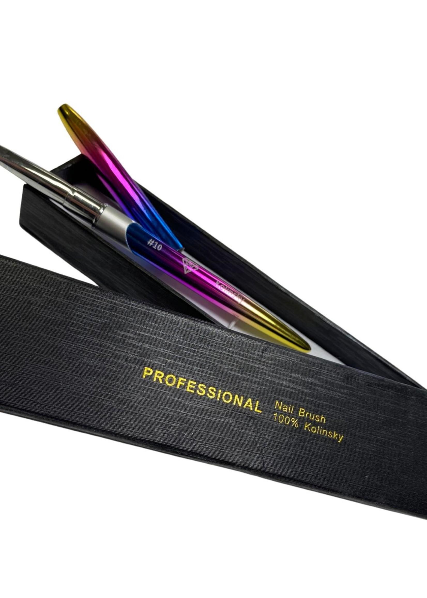 La Ross Kolinsky Acrylic brush #10