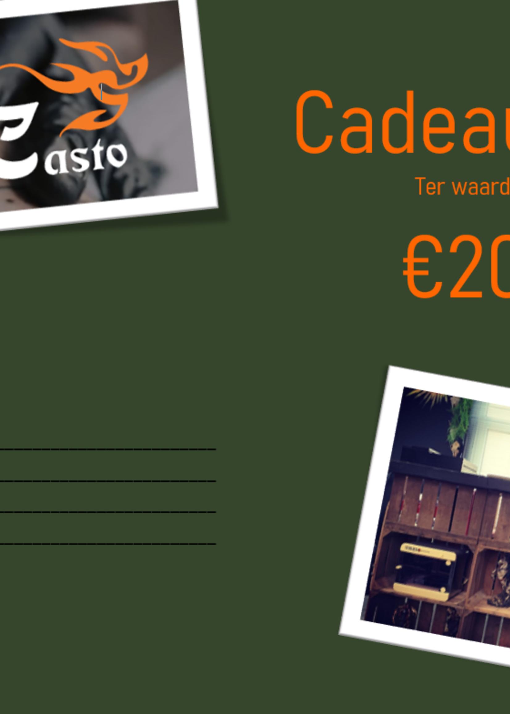 Tattoo Il Casto Gift Card - Tattoo il Casto - €20,-
